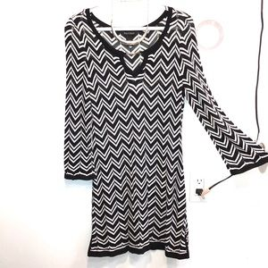 White House | Black Market - chevron dress/tunic